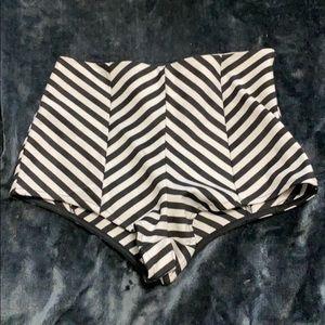 Striped briefs/ shorts